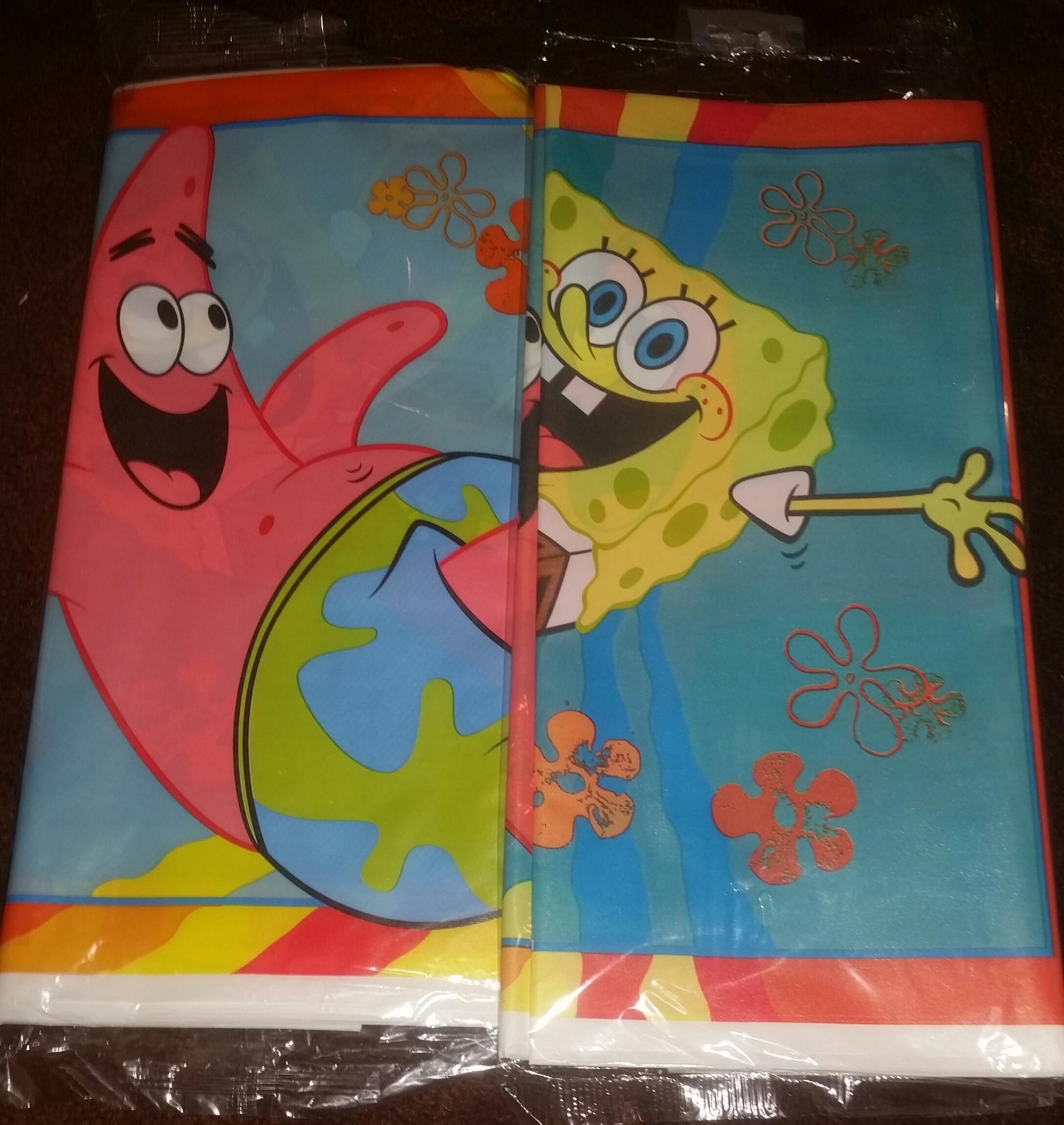 SpongeBob Table Cover