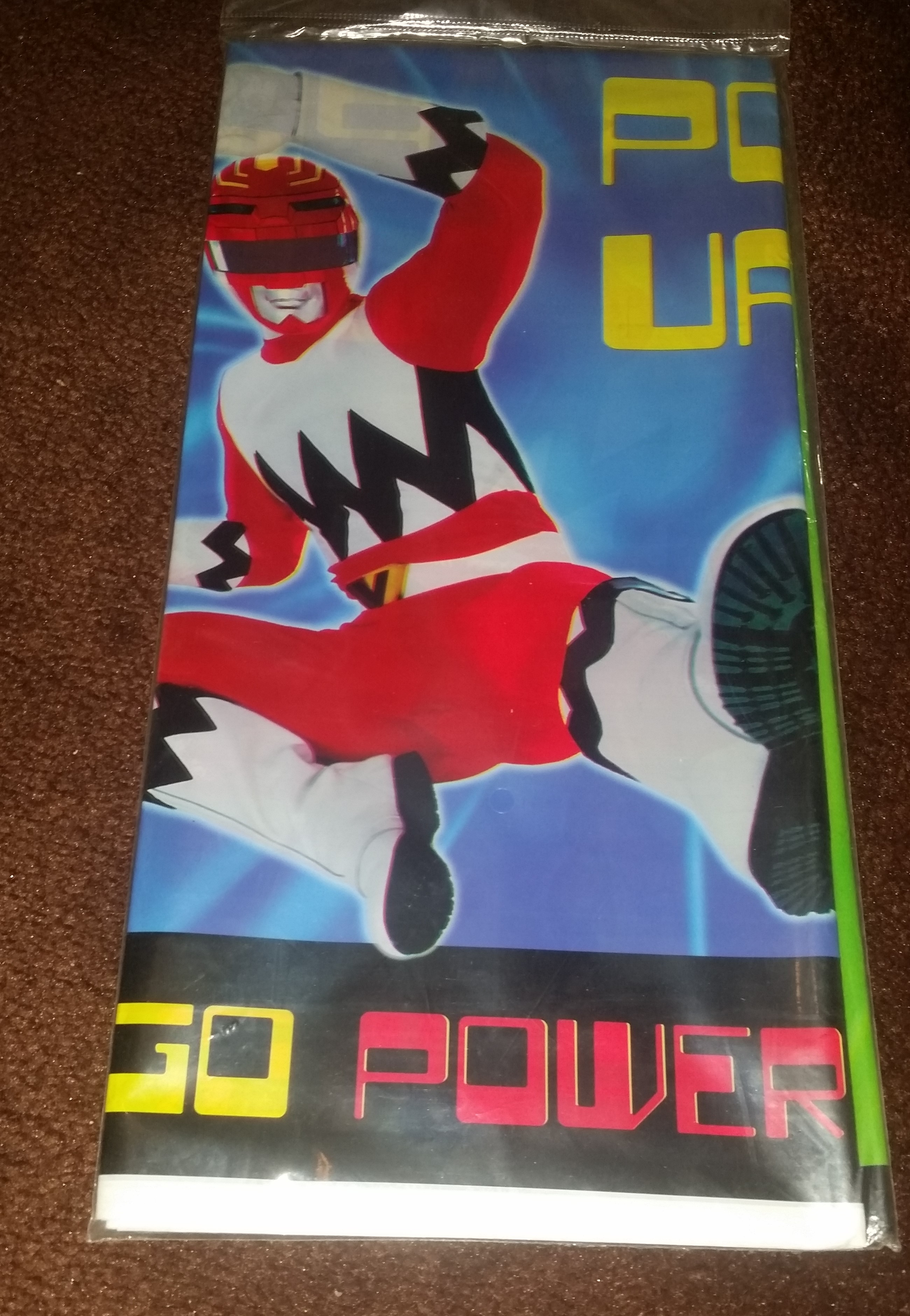 Party Express Power Rangers Table Cover