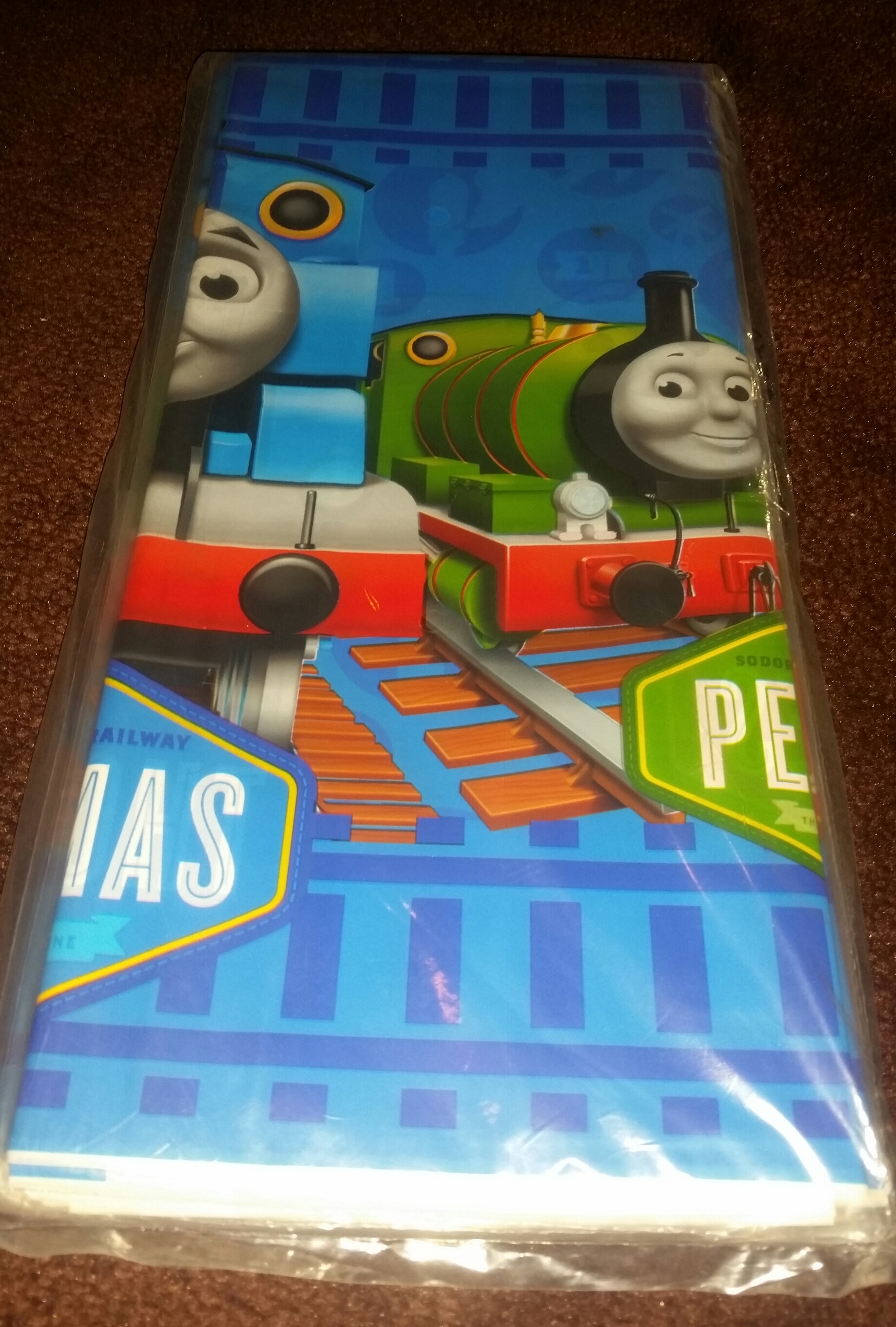 Thomas the Train Table Cover