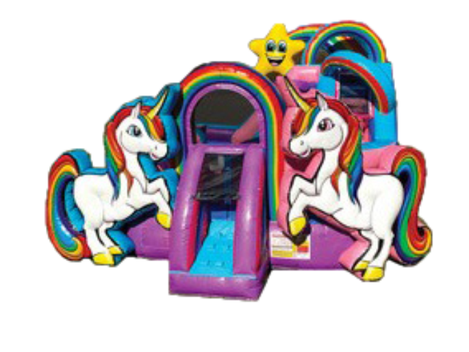 Unicorn KidZone Combo w/Hoop (Dry Unit)